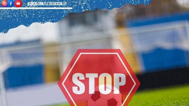 Atletico Ascoli, sospese tutte le attività dalla prima squadra alla Scuola Calcio