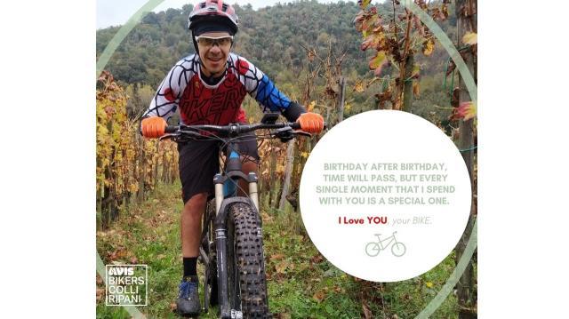 Avis Bikers dei Colli Ripani: buon compleanno a Fraticelli, uno dei fondatori del gruppo