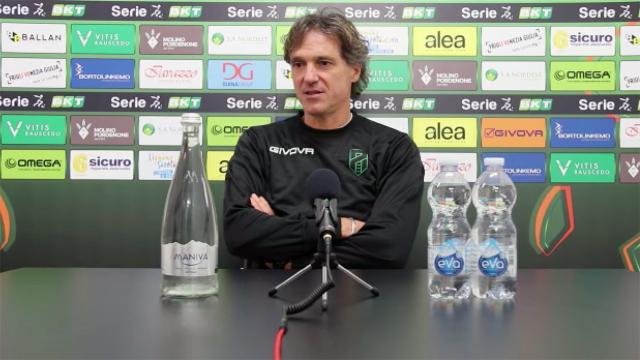 """Pordenone-Ascoli 1-1, la voce di Strukelj: """"Pareggio ci può stare, gara condizionata dal vento"""""""
