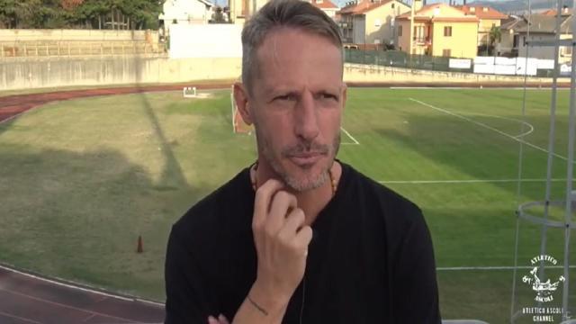 Atletico Ascoli-Valdichienti Ponte 3-0, Giandomenico: ''Ottimo atteggiamento da parte di tutti''