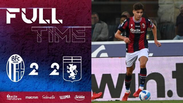 Bologna-Genoa 2-2, highlights