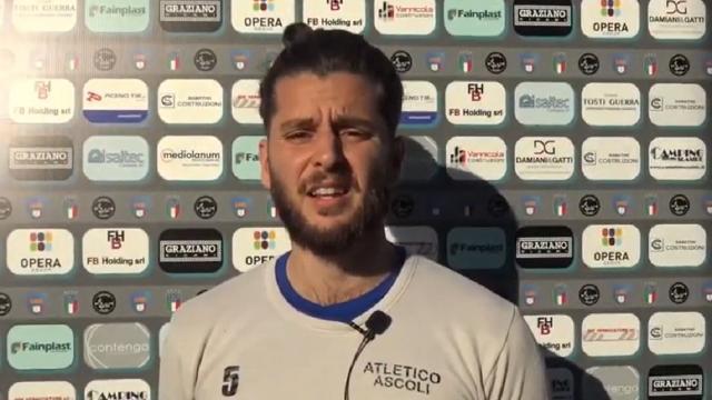 """Atletico Ascoli, la voce di Nicolosi: """"A Porto d'Ascoli grande vittoria. Sangiustese ben attrezzata"""""""