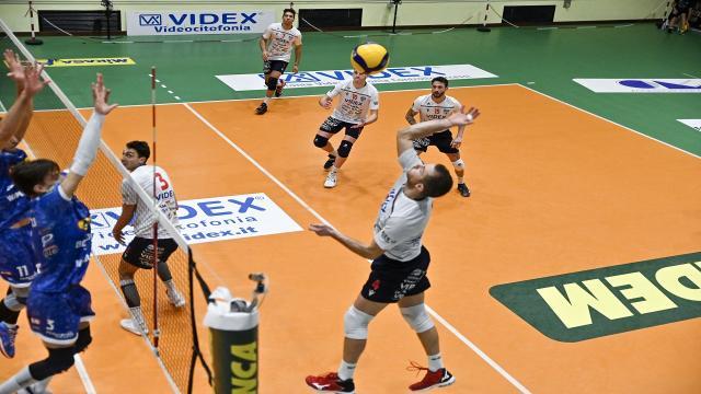 Pallavolo Serie A3, terza sconfitta consecutiva per la Videx Grottazzolina