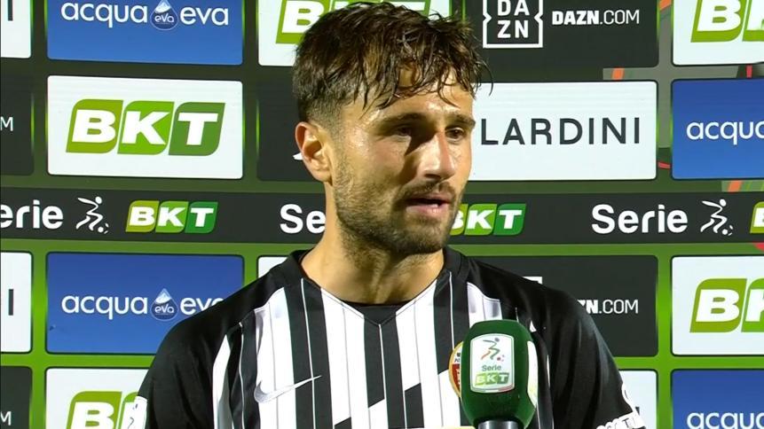 """Ascoli-Reggiana 2-1, Gerbo: """"Vittoria importantissima. Riavere i tifosi ci ha dato forza"""""""