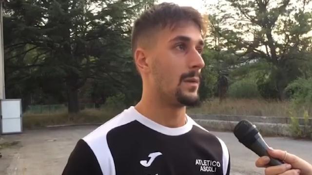 Atletico Ascoli, Gabrielli: ''Contro l'Urbino puntiamo a fare quei gol mancati ad Urbania''