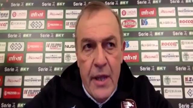 Salernitana-Pescara 2-0, le voci di Castori e Breda post gara