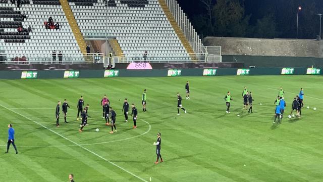 Ascoli Calcio, seduta di scarico al Picchio Village. In tre a parte, Vellios a riposo