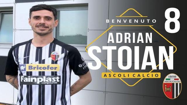 """Ascoli Calcio, ufficiale ingaggio Stoian: """"Preferisco giocare da mezzala o attaccante esterno sinistro"""""""