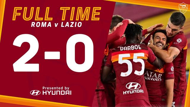 Roma-Lazio 2-0, highlights
