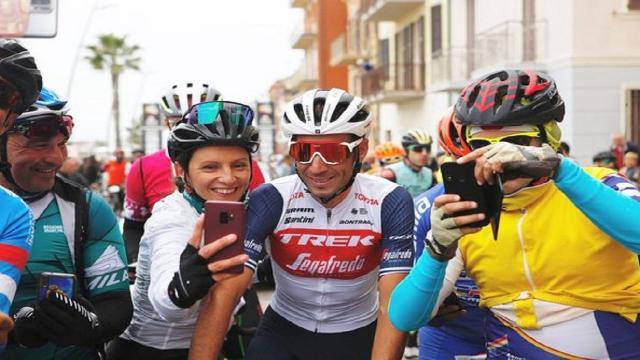 Mini Granfondo Nibali: sfilata dei baby campioni del pedale sotto gli occhi dello Squalo