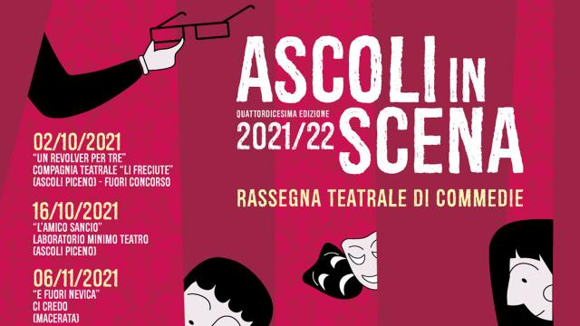 Ascoli Piceno, torna il teatro amatoriale al PalaFolli. Al via la 14esima edizione di 'Ascolinscena'