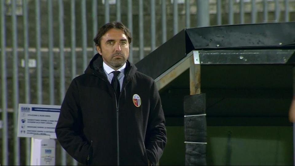 """Ascoli-Reggiana 2-1, Bertotto: """"Minuti finali thriller, percorso di crescita non può essere così veloce"""""""