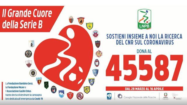 Lega Serie B e Cnr rafforzano impegno nella lotta al Coronavirus con l'aiuto degli italiani