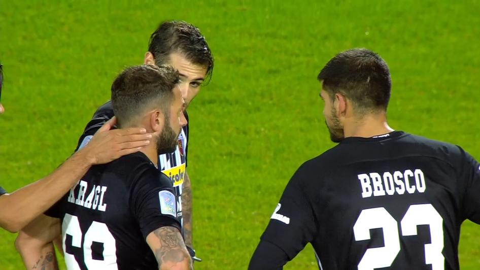 Frosinone-Ascoli 1-0, i momenti chiave della partita