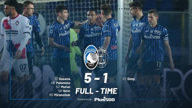 Atalanta-Crotone 5-1, highlights. E' amaro il ritorno in Serie A di Cosmi