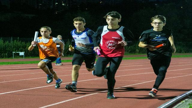 Atletica leggera, assegnati i titoli marchigiani di staffette per ragazzi e cadetti