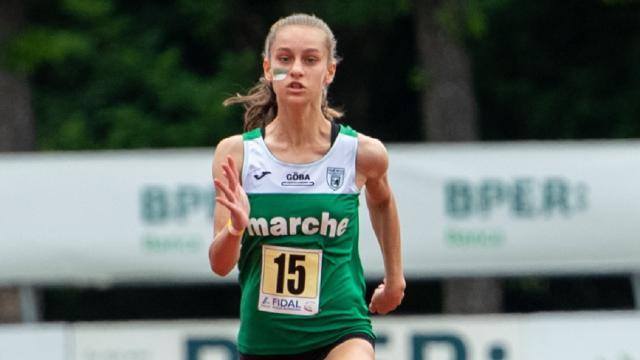 Atletica leggera, altra grande prestazione della 15enne sprint marchigiana Pagliarini