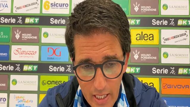 """Pordenone-Pescara 0-0: voci Grassadonia (""""Con l'Ascoli una finale"""") e ds Bocchetti (""""Ora dobbiamo sempre vincere"""")"""