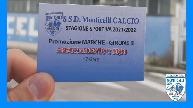 Monticelli Calcio, parte la campagna abbonamenti per il campionato di Promozione 2021/2022