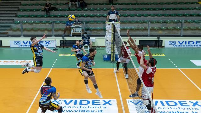 Pallavolo Serie A3, la Videx Grottazzolina supera Ottaviano in tre set