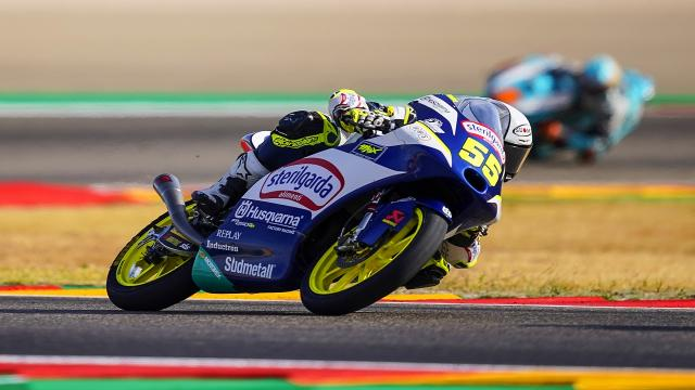 Moto3, un brillante Fenati chiude ai piedi del podio nel Gran Premio d'Aragon