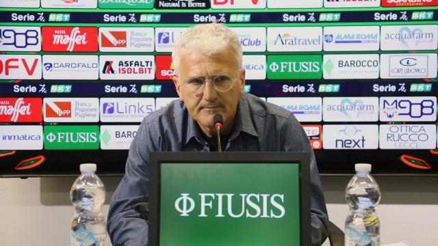 """Lecce-Cittadella 1-3, le voci di Corini e Venturato (""""Partita importante su campo difficile"""")"""
