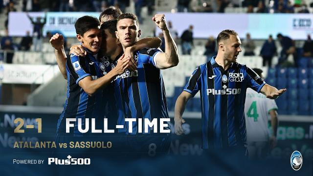 Atalanta-Sassuolo 2-1, highlights