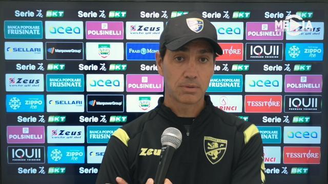 """Frosinone-Ascoli 1-0, la voce di Nesta: """"Sempre in partita, forti nel primo tempo a non prender gol"""""""