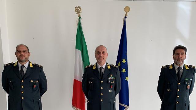 Guardia Finanza Fermo, cambio al vertice. Maggiore Addolorato nuovo comandante