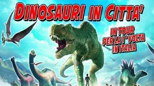 Ascoli Piceno: il tour ''Dinosauri in città'' per la prima volta in Italia