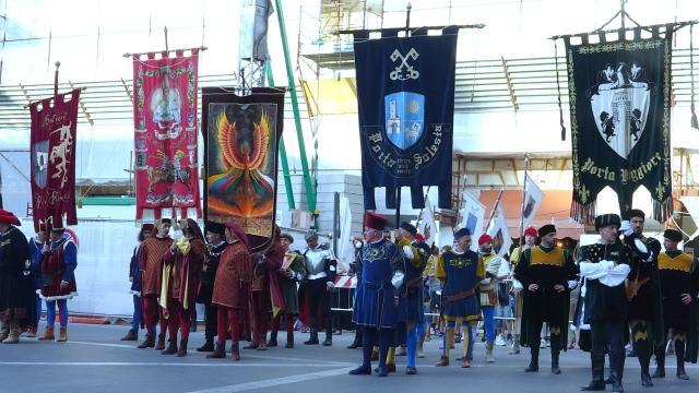 Quintana di Ascoli, possibile aumento figuranti per il corteo di Agosto. Domani cavalieri in pista