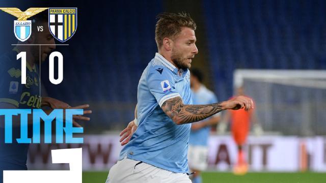 Lazio-Parma 1-0, highlights