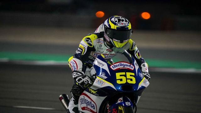 Moto3: Gran Premio di Doha, Fenati dopo le prime libere: ''Molto soddisfatto nonostante un problema''