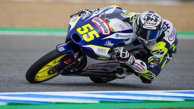 Moto3, Fenati brilla nelle prime libere a Jerez. Biaggi: ''Suoi risultati ci fanno ben sperare''