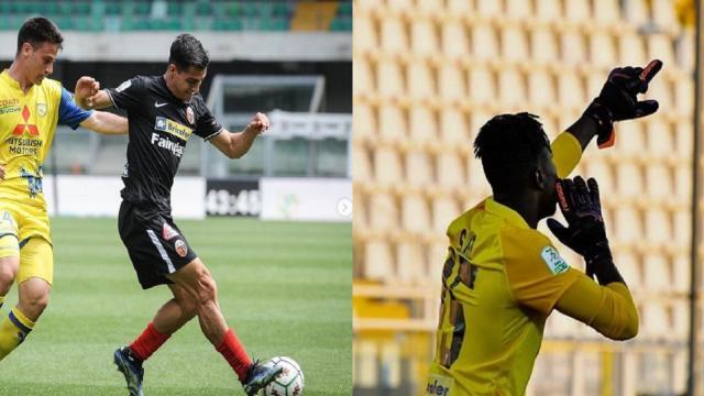 """Ascoli Calcio, Mosti: """"Gruppo di uomini veri che non ha mai mollato"""". Sarr: """"Abbiamo vinto insieme"""""""