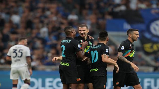 Inter-Bologna 6-1, highlights