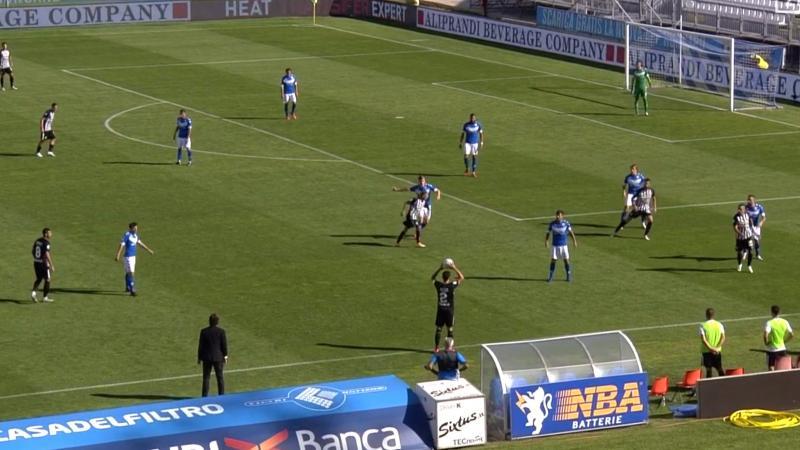 Brescia-Ascoli 1-1, primo punto per il Picchio. Donnarumma replica ...