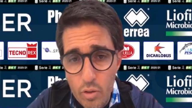 """Vicenza-Pescara 1-0, la voce di Grassadonia: """"Approccio non positivo, sicuramente ha influito ko con Ascoli"""""""