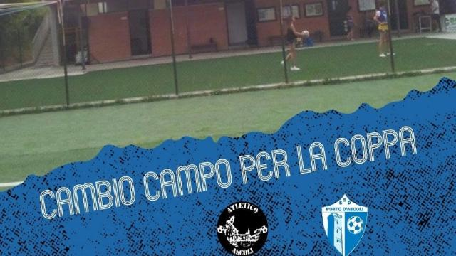 Coppa Italia Eccellenza Marche: in notturna la prima gara dell'Atletico Ascoli con il Porto d'Ascoli