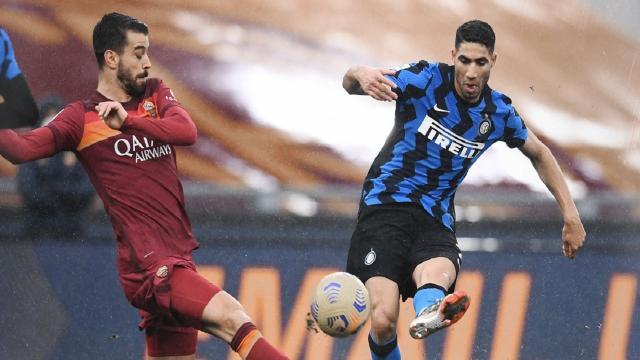 Roma-Inter 2-2, highlights