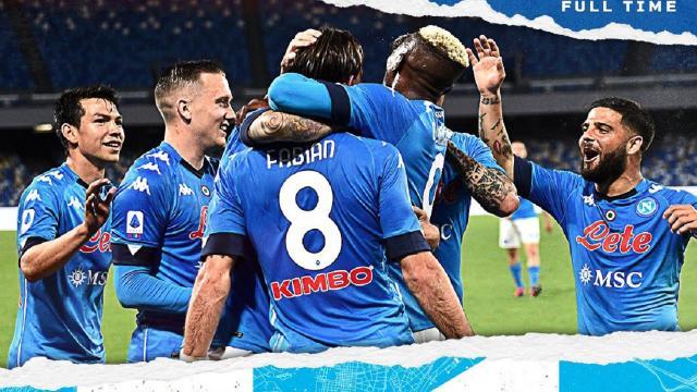 Napoli-Udinese 5-1, highlights