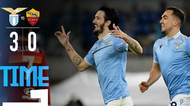 Lazio-Roma 3-0, highlights