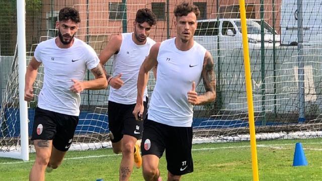 Ascoli Calcio, prima doppia seduta di lavoro a Cascia per i bianconeri di Sottil