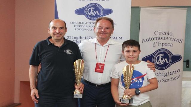 Grande successo per il 25° Trofeo Scarfiotti con la regia del Caem. Vittoria assoluta per Carnevali