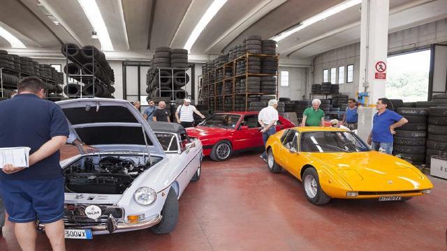 Caem/Scarfiotti, a Tolentino nuova seduta di omologazione per auto e moto d'epoca