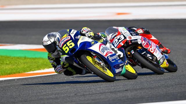 Moto3, Fenati chiude al 12° posto il Gran Premio della Comunità Valenciana
