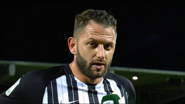 Ascoli Calcio, 31 anni per Kragl. La sua stagione in bianconero si chiude con 21 presenze ed un gol