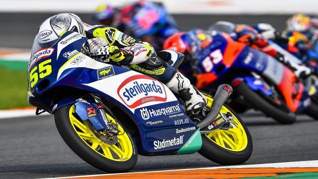 Moto3, Fenati chiude in tredicesima posizione il Gran Premio d'Europa a Valencia