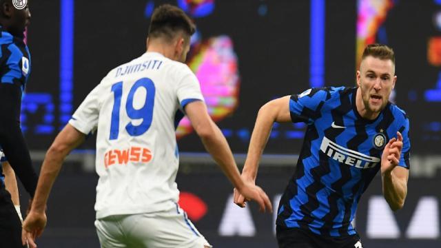 Inter-Atalanta 1-0, highlights
