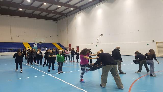 Unione Sportiva Acli Marche, coinvolte 80 donne nei corsi di autodifesa nel Piceno